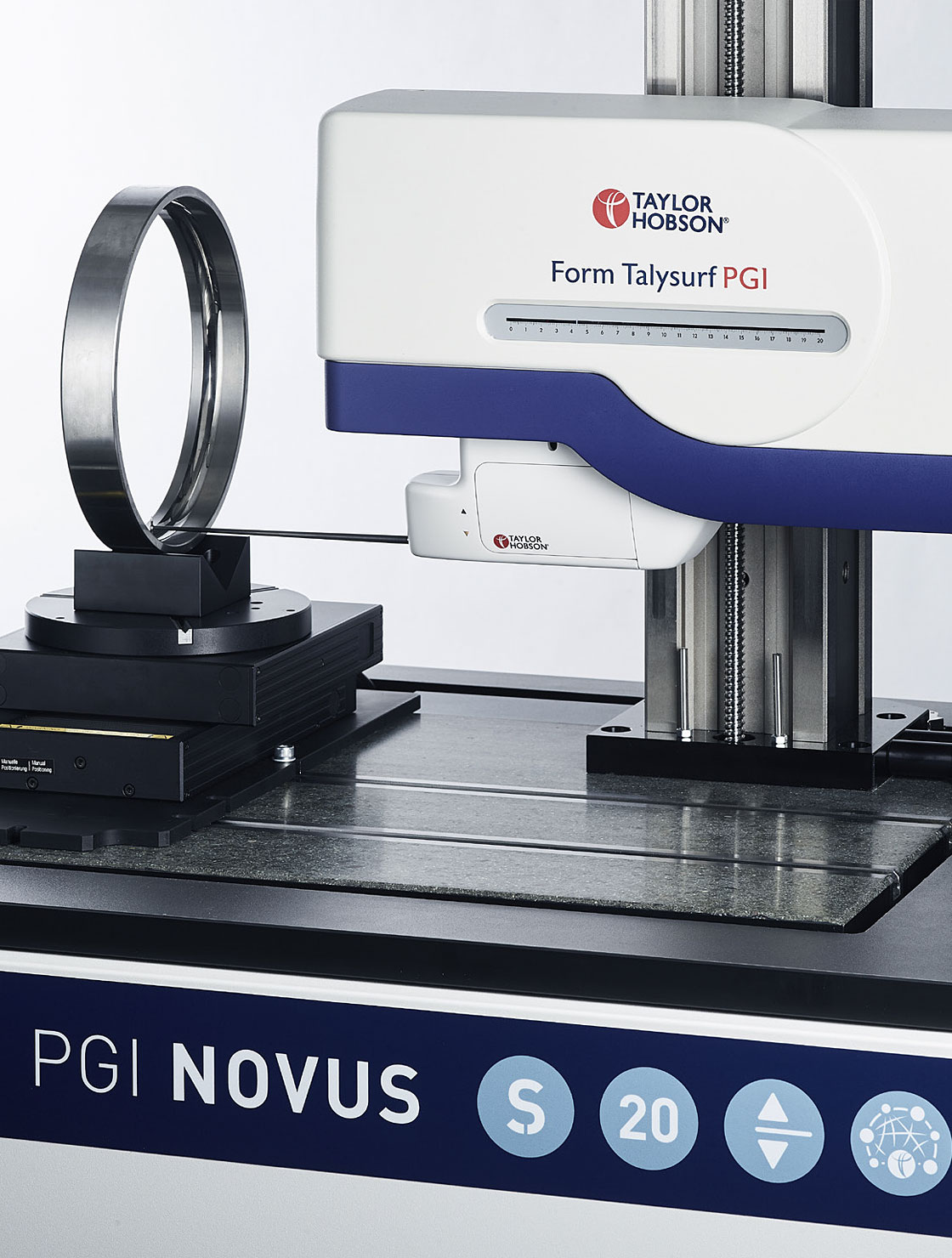 Advanced surface finish & contour measurement system